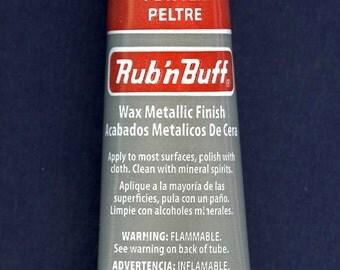 Pewter 76313T ~ Amaco Rub 'N Buff Uncarded Wax Metallic Finish Crafts etc