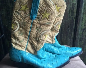 "Authentic ""Donna Jean"" Cowgirl Western Boots"