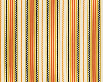 RJR Fabrics Beggars Bounty 2299 01 White Stripes Yardage by Patrick Lose
