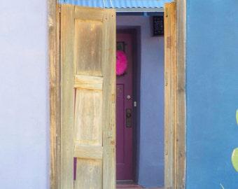 Old Tucson, Tucson doorway, Arizona, Doorway, Historic building, Southwestern USA, Southwest, Living room art