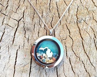pure michigan locket
