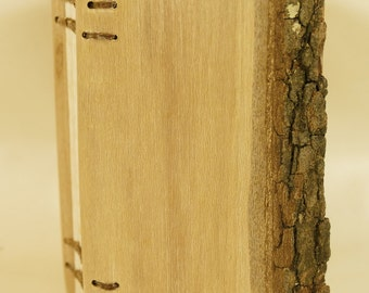 Coptic Bound Book with Dogwood Covers.    (277)
