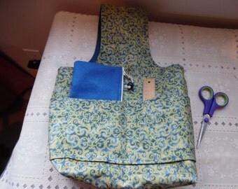Free Notion Bag with Knitting Bag/ Arm Bag / Craft Bag / Wristlet Bag / Wristlet Knitting Bag / Project Bag / Sock Bag /