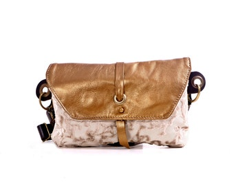 Golden Hip Bag - Fanny Pack - Traveler Bag - Utility Hip Belt - Hip Pouch