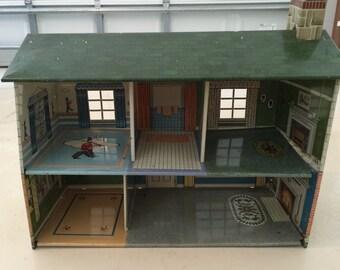 Marx Tin Dollhouse