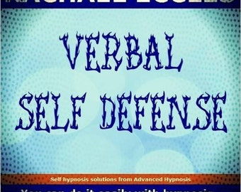 Verbal Self Defence, Assertiveness Self Hypnosis Hypnotherapy 2015 Audio CD