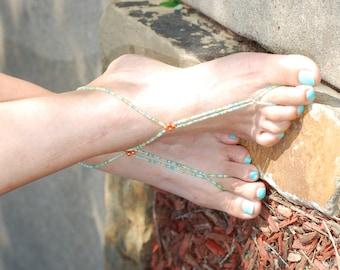 Barefoot Sandals, Beach Wedding Barefoot Sandals, Barefoot Sandals Wedding, Barefoot Sandles, Beaded Barefoot Sandals, Boho Wedding Jewelry