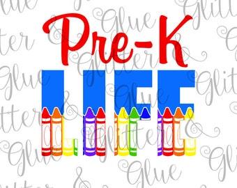 Pre-K Life SVG File