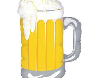 Frosty Beer Mug Balloon | Petite Party Studio