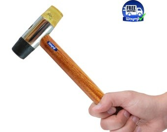 Plastic And Rubber Head Jeweler's Hammer No Marring Mallet Tool WA 302-045