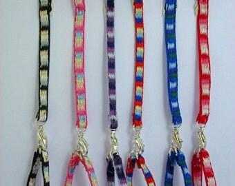 Handmade dolls house 1:12th scale miniature accessory dog lead leash and collar
