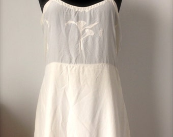 Combination, short, babydoll, under clothing Vintage 40