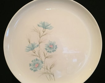 Taylor Smith & Taylor Ever Yours U.S.A. Boutonniere Dinner Plate – 1960s