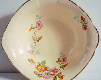 Alfred Meakin floral serving bowl Made in England