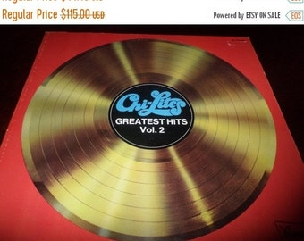 Save 70% Today Vintage 1976 Vinyl LP Promotional Record Chi Lites Greatest Hits Volume 2 Bruncwick Records 1589