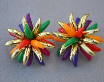 Carmen Miranda 80's Earrings