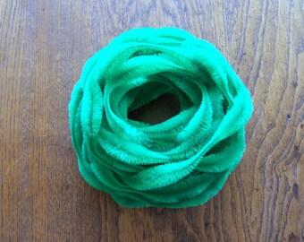 "Sale! Vintage 3"" Bump Chenille Green NOS"