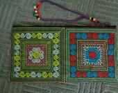 Sapa Hmong Polyester Embroidered Purse