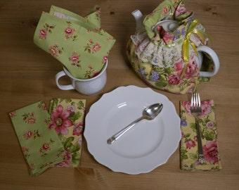Tea Cozy/Tea Snuggie and Napkin Set