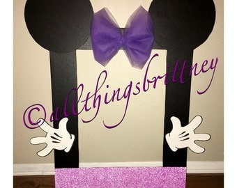 Minnie Mouse Photo Booth Prop