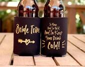 Bachelorette Party // Bachelorette Party Favors // Bridesmaid Gift // Drink Cooler, Drink Holder, Beer cooler, Bride Tribe, Beer Holder,