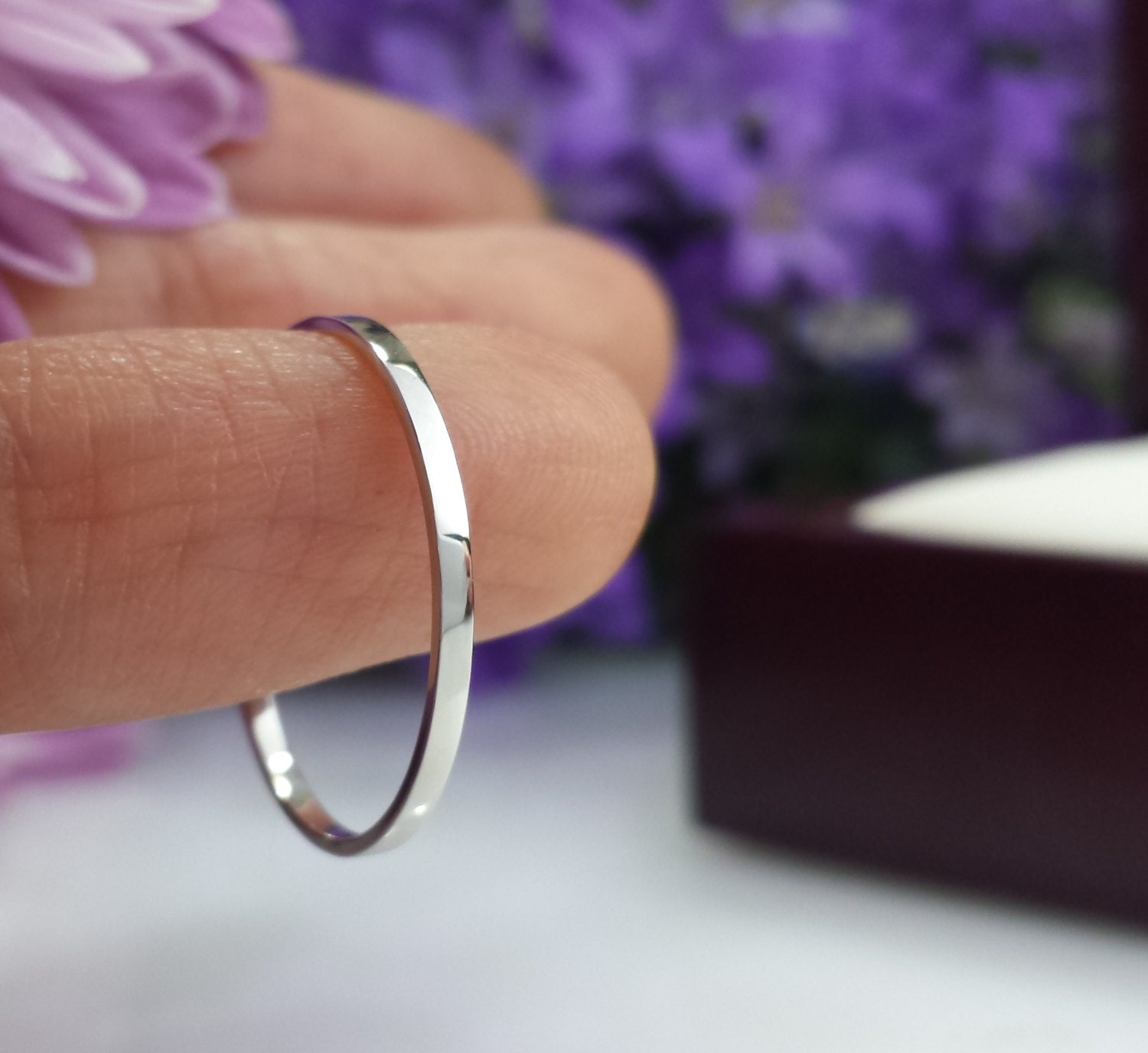 2mm wedding band 2mm wedding band Super Thin Platinum wedding band 1mm 1 5mm 2mm Hammered comfort fit matte satin domed flat platinum band slim platinum ring skinny custom