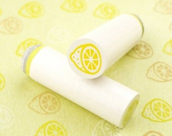Lemon pieces - mini stamps/Lüttje stamp Ø 1,1 cm