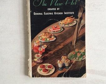 Vintage 1933 The New Art of Buying, Preserving & Preparing Foods Cookbook