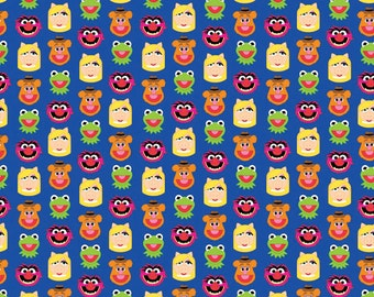 Disney Emojis Muppets Friends Fabric From Springs Creative