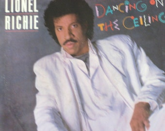 Vintage 45 Record, Lionel Richie, Dancing On The Ceiling, Picture Sleeve, Singer Songwriter, Vinyl Record, Music Lover Gift, Free Shipping