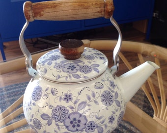 Vintage Gailstyn-Sutton Copenhagen Blue And White Teapot