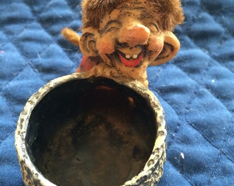 Vintage Norway Troll - small