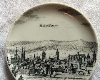 Vintage Uhlenhorst Gegr 1849 Souvenir Plate