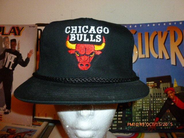 9fa860f4d53e Chicago Bulls Adjustable Strapback Hat Cap Vintage Michael Jordan Scotty  Pippen Derrick Rose Dennis Rodman Big