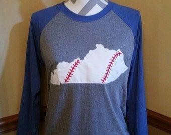 Kentucky baseball tee