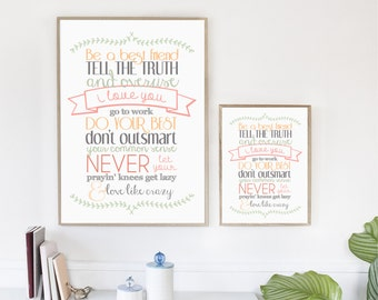 Lee Brice, Love Like Crazy, Song Lyric Art, Country Music, Typography, Print, Quote, Rustic
