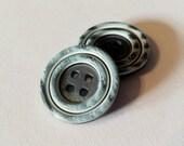 Vintage Blue Buttons 20mm...