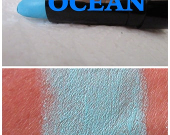 Blue Lipstick Etsy
