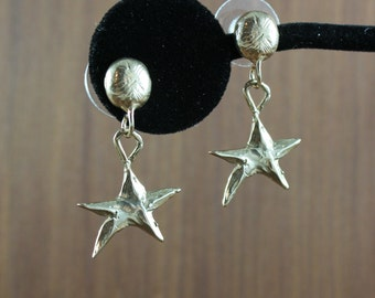 You're a Star ~ Gold Bronze earrings