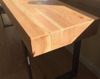 Reclaimed Glue-lam Bench