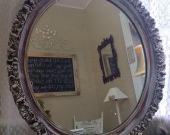 Vintage mirror, antique mirror, cottage mirror