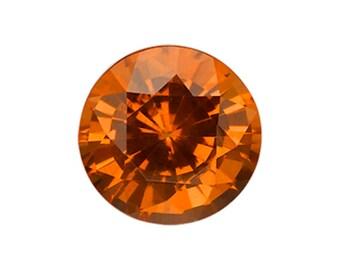 1.16 Carat Yellow Sapphire, Round cut Sapphire, Loose Sapphire Gemstone, Yellow Gemstone, Non Heated Real Sapphire
