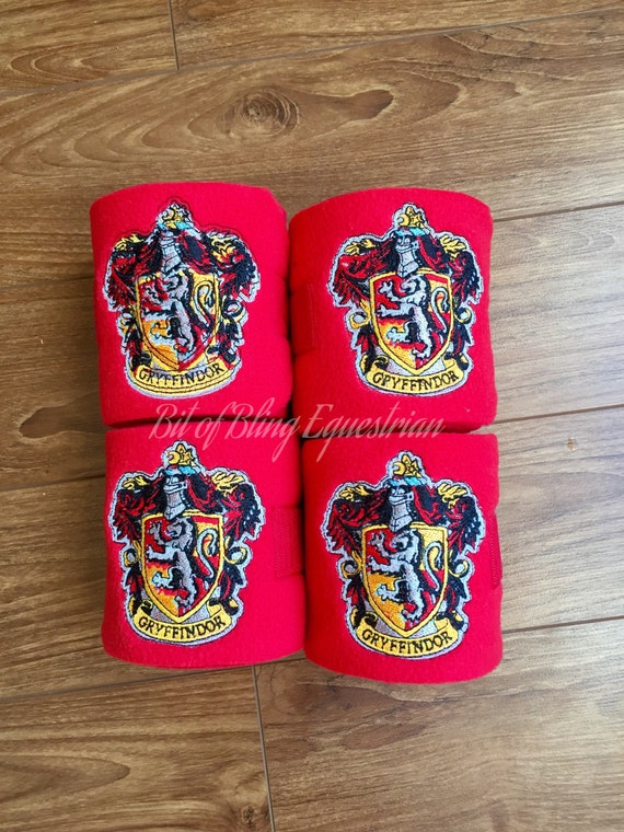 4 Wizard House Embroidered Polo Wraps
