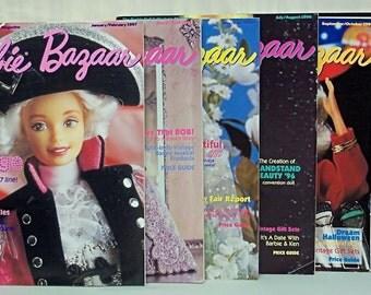 Barbie Bazaar* Magazines - 1996 Full Year Issues - L@@k!