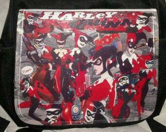 Harley Quinn Small black backpack
