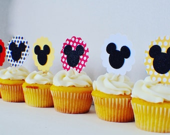 Mouse Cupcake Toppees