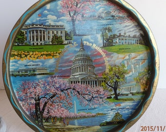 Souvenir Tray of Washington D.C.
