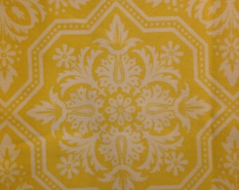 HEIRLOOM by Joel Dewberry - Fabric -  Tile Flourish in Dandelion  - Quilting - Sewing - Home Decor - Free Spirit - Westminster