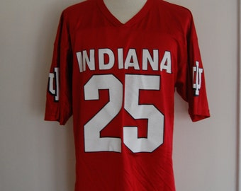 Indiana Hoosiers Football Jersey 1990's Size XL