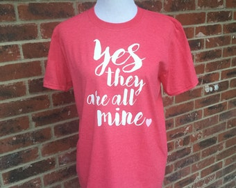 Yes, they are all mine Tee